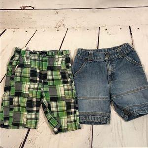 Bundle of two Sz 6 shorts